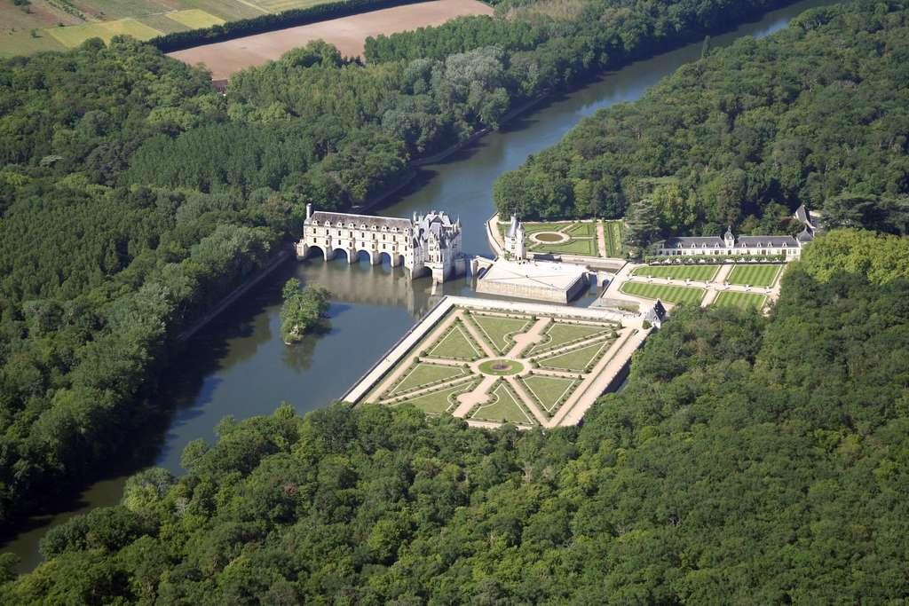 Le château de Chenonceau, en Indre-et-Loire