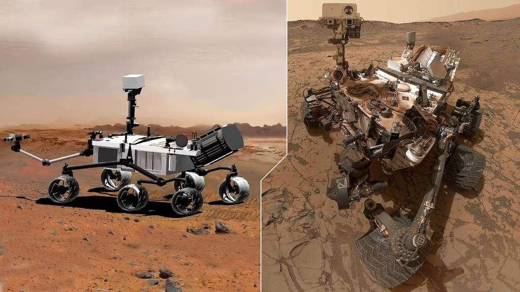Curiosity enquête sur le passé de Mars