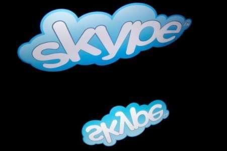Microsoft vous écoute via la fonctionnalité de traduction de Skype. © Lionel Bonaventure, AFP Photo