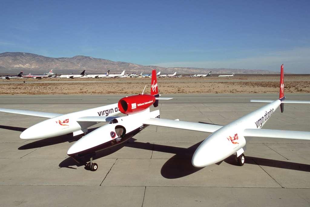 Le GlobalFlyer, construit par la Scaled Composites, de Burt Rutan