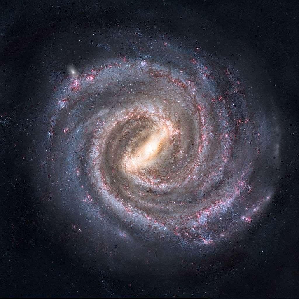 Illustration de notre galaxie la Voie lactée. © Nick Risinger
