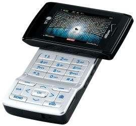 De la taille d'un téléphone mobile - d'ailleurs, c'est aussi un téléphone ! -, le V Cast Mobile TV, de Verizon Wireless, est un téléviseur de poche. Dès le mois de mars, il permettra de recevoir, aux États-Unis, huit chaînes de télévision. Crédit : Verizon Wireless