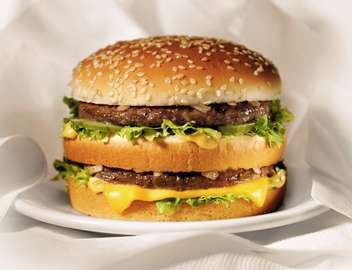 Le diabète de type 2 concerne essentiellement les populations des pays développés, alimentation riche en graisses saturées et pauvre en fibres oblige… © McDonald's