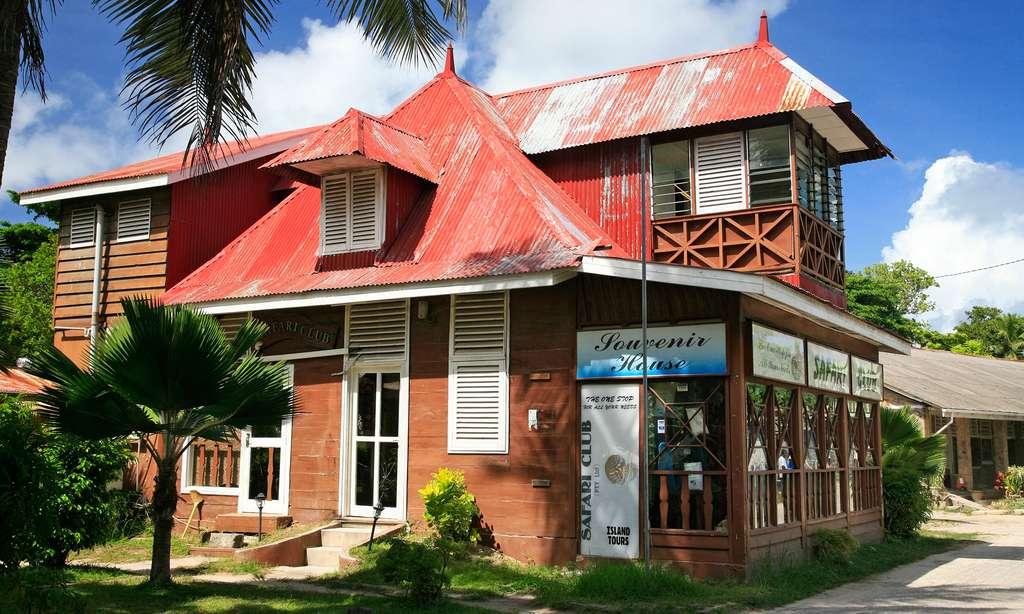 Maison traditionnelle aux Seychelles