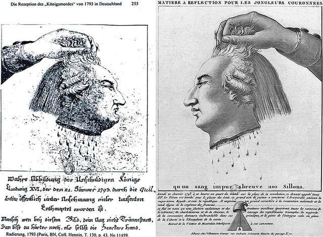 Un peu de sang aurait été prélevé à l'aide d'un mouchoir juste après la décapitation de Louis XVI. © Quapan - Licence Creative Commons (by-nc-sa 2.0)