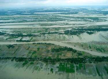 Figure 11 : Inondation au Bengladesh.