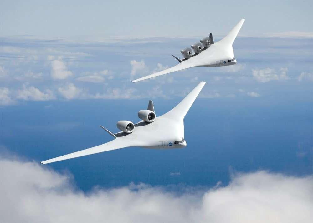 Le projet X48, de Boeing, basé sur une étude de McDonnell Douglas
