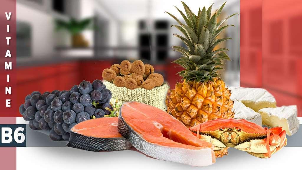 La vitamine B6 existe sous trois formes