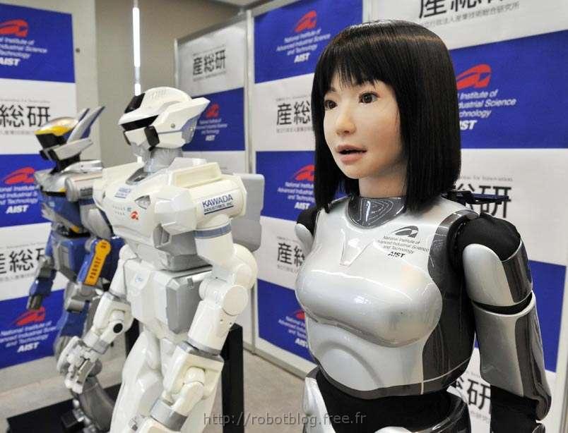 Le robot Ucroa. © robotblog.free.fr