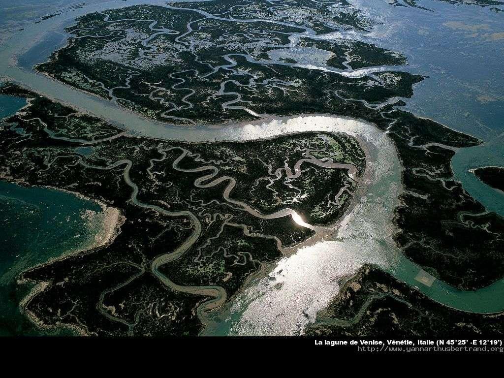 La lagune de Venise, Vénétie, Italie