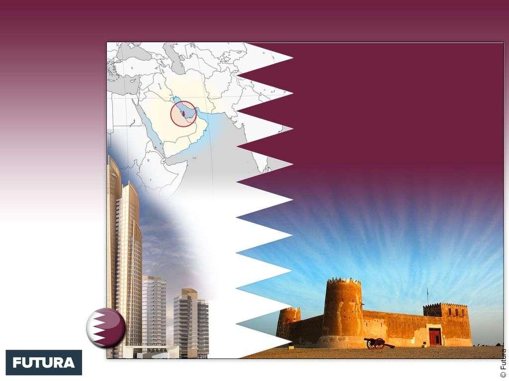 Drapeau : Qatar