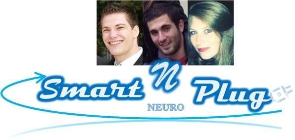 L'équipe du projet Smart n Plug : Claire Matrone, Valentin Mathieu et Maxime Gréard. © DR