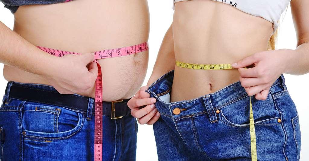 Parmi les facteurs de risque du diabète de type 2, se trouve l'obésité. © Kalinovskiy, Shutterstock