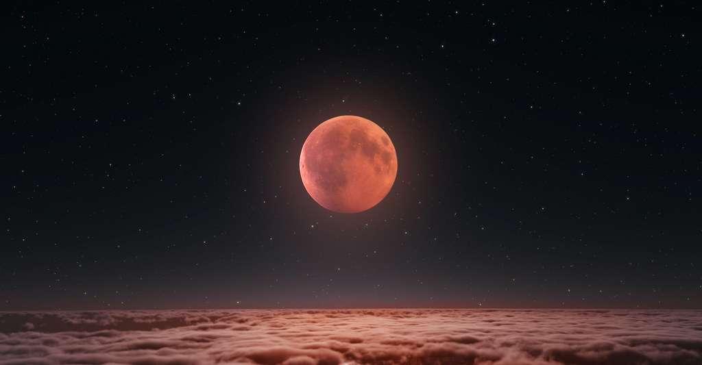 Si vous habitez en dehors de l'Europe, ne manquez pas l'éclipse de Lune du mois de mai ! © Peter Jurik, Adobe Stock