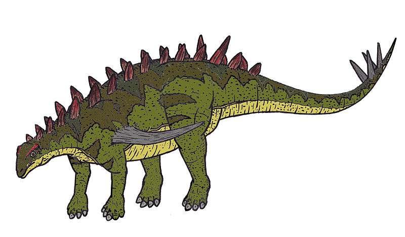 Le gigantspinosaure aux épines géantes