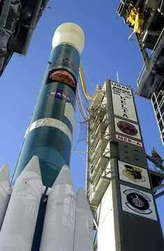 A son décollage de Cap Canaveral, le mardi 9 Juin 2003, combien de bactéries étaient encore présentes sur Spirit ? (Crédits : Nasa)