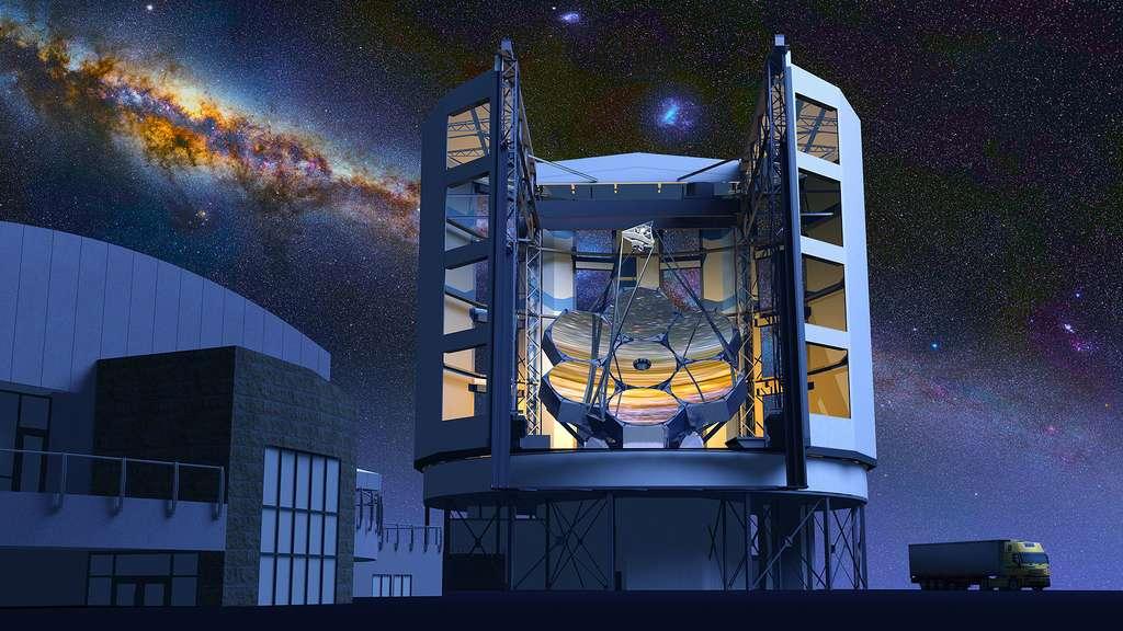 Le télescope géant Magellan