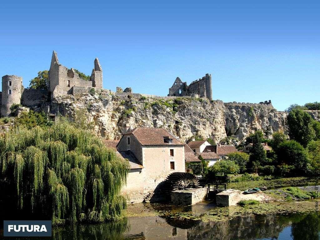 Château d'Angles-sur-l'Anglin - Vienne
