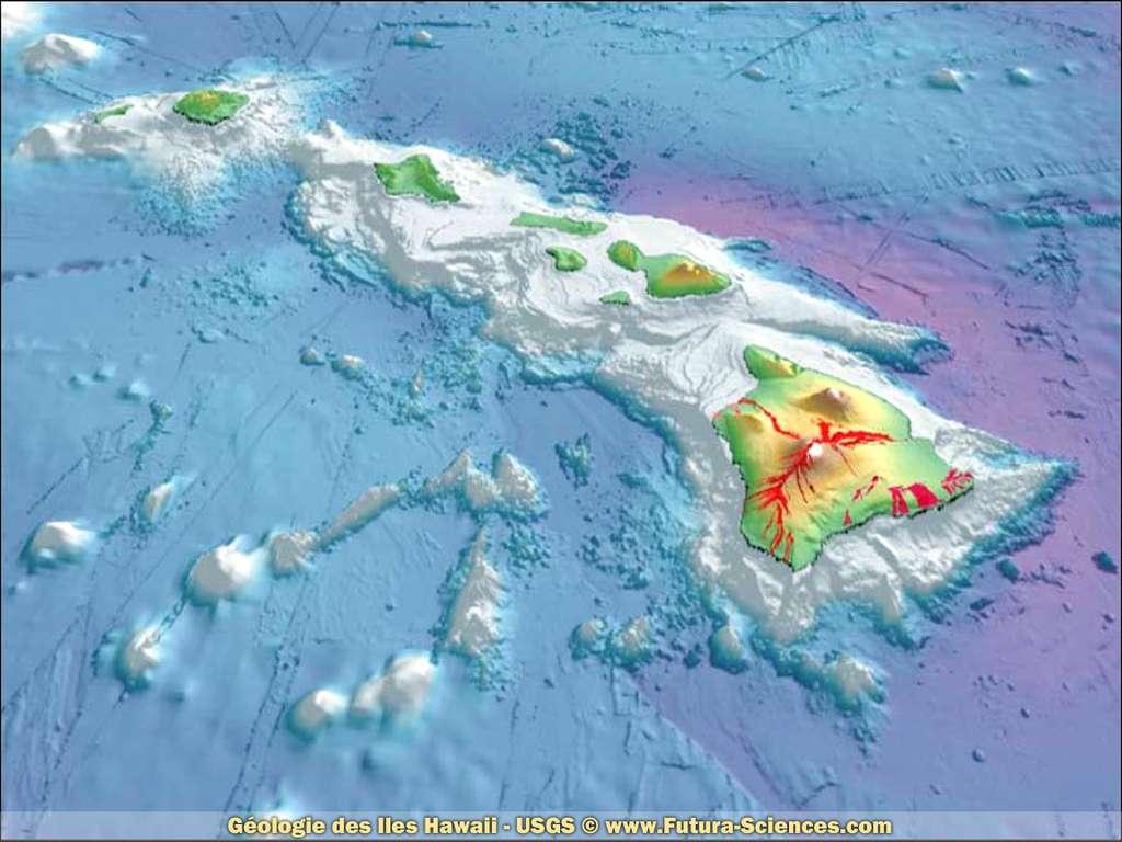 Géologie des iles Hawaii