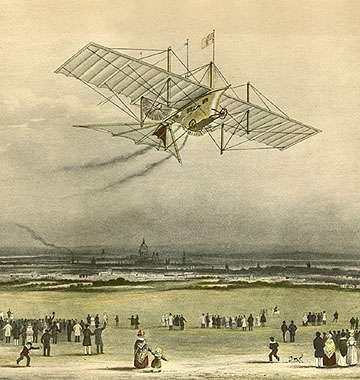 L'Ariel, un aéroplane à vapeur de William Samuel Henson