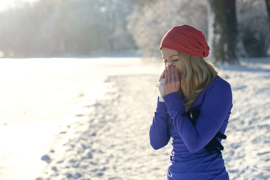 Lorsqu'il fait froid, nous pouvons perdre par le nez jusqu'à 400 ml de liquide par jour. © Lars Zahner, Fotolia