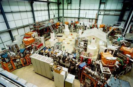 L'anneau de stockage des ions lithium au Max Planck Institute for Nuclear Physics à Heidelberg.TSR Crédit : Relativity Team (Sascha Reinhardt, Sergei Karpuk, Christian Novotny, Guido Saathoff)