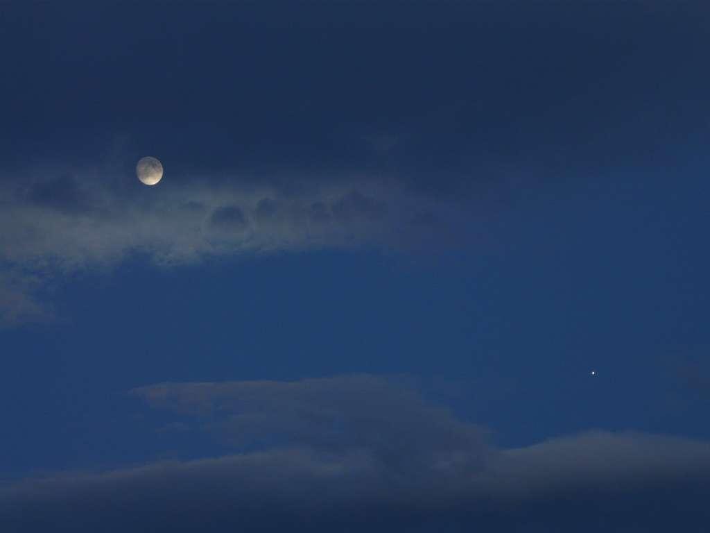 Conjonction Lune-Jupiter