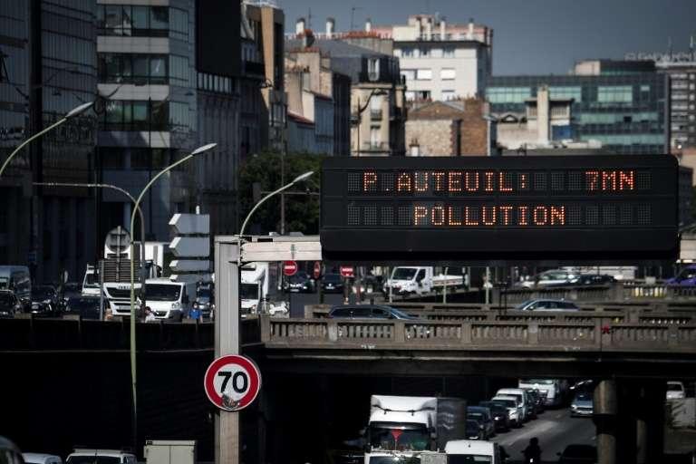 Le périphérique parisien, le 31 juillet 2020. © Alain Jocard, AFP