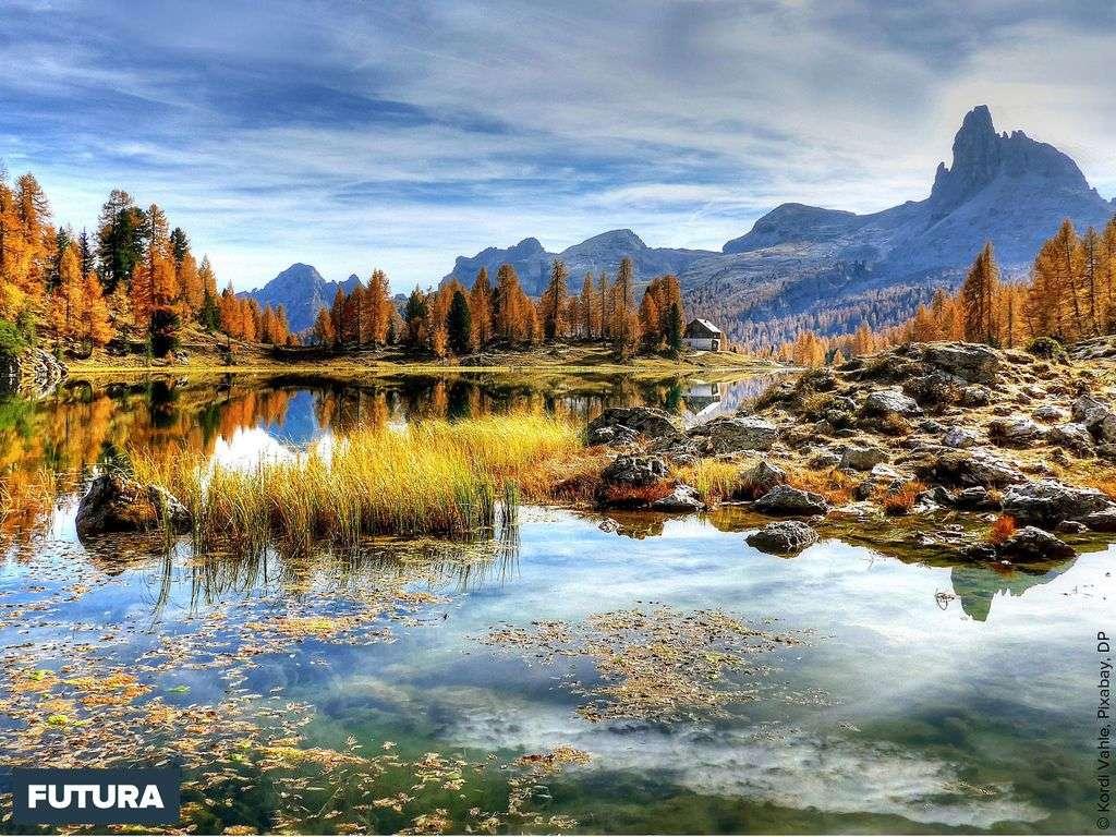 Dolomites visite dans la région des lacs