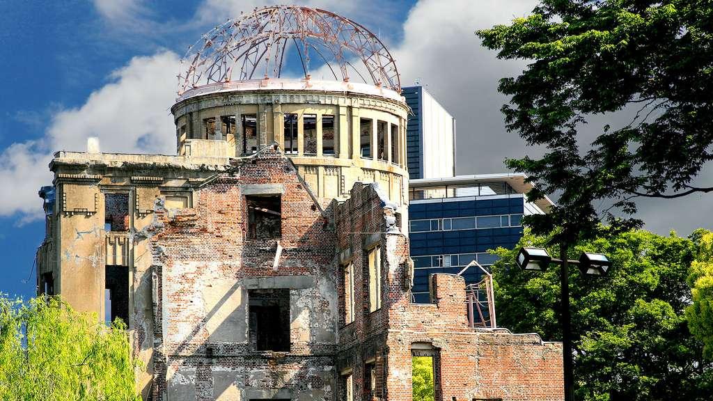 Le Dôme de la bombe A, à Hiroshima