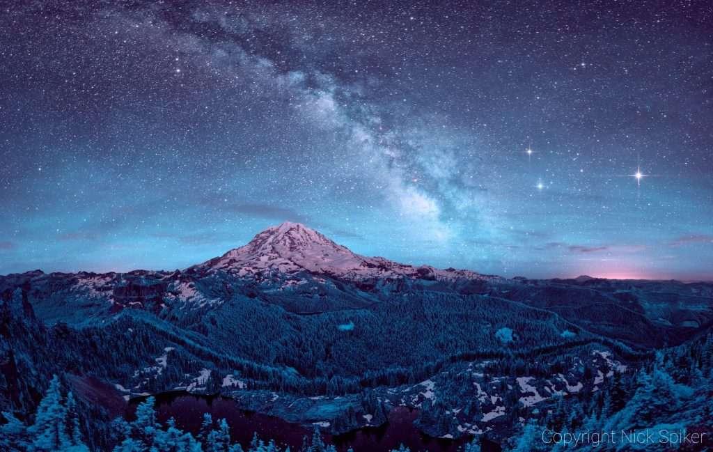 Mention spéciale catégorie paysage : Ciel céleste. © Nick Spiker
