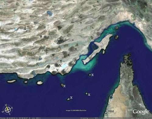 Dômes de sel en Iran