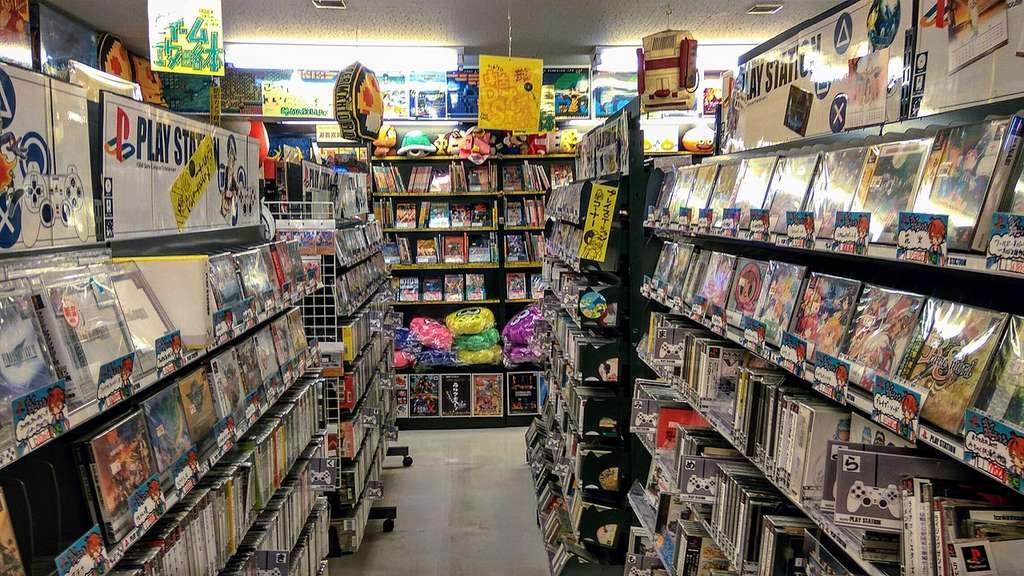 Le temple pour les aficionados des jeux anciens, ici le magasin Super Potato à Tokyo. © Jesusbella. Wikimedia Commons, CC by-sa 4.0