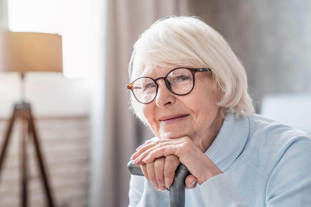 La téléassistance permet de sécuriser les personnes âgées qui vivent seules chez elles. © InsideCréativeHouse, Adobe Stock