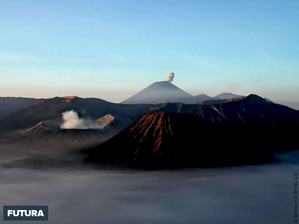 Volcan Mount Bromo, Java - Indonesia