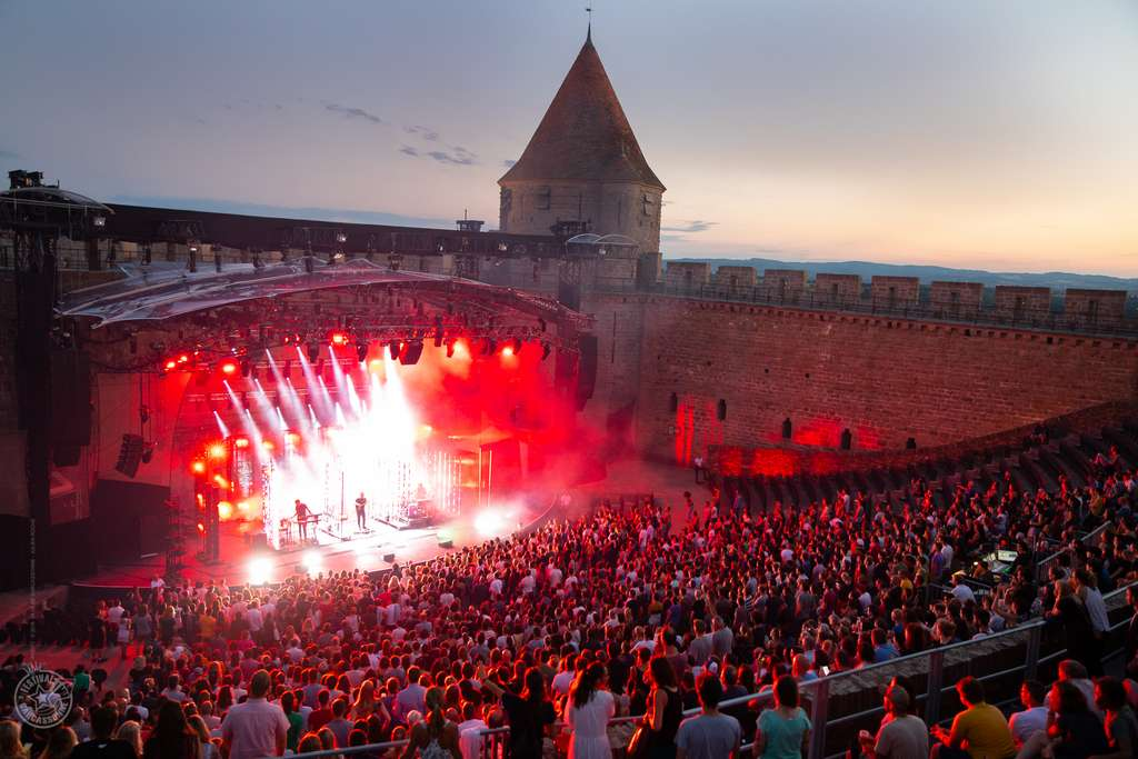 Le Festival de Carcassonne soutient des artistes émergents. © Julien Roche, Ville de Carcassonne