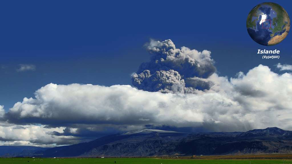 L'Eyjafjöll, le volcan islandais qui perturbe les avions