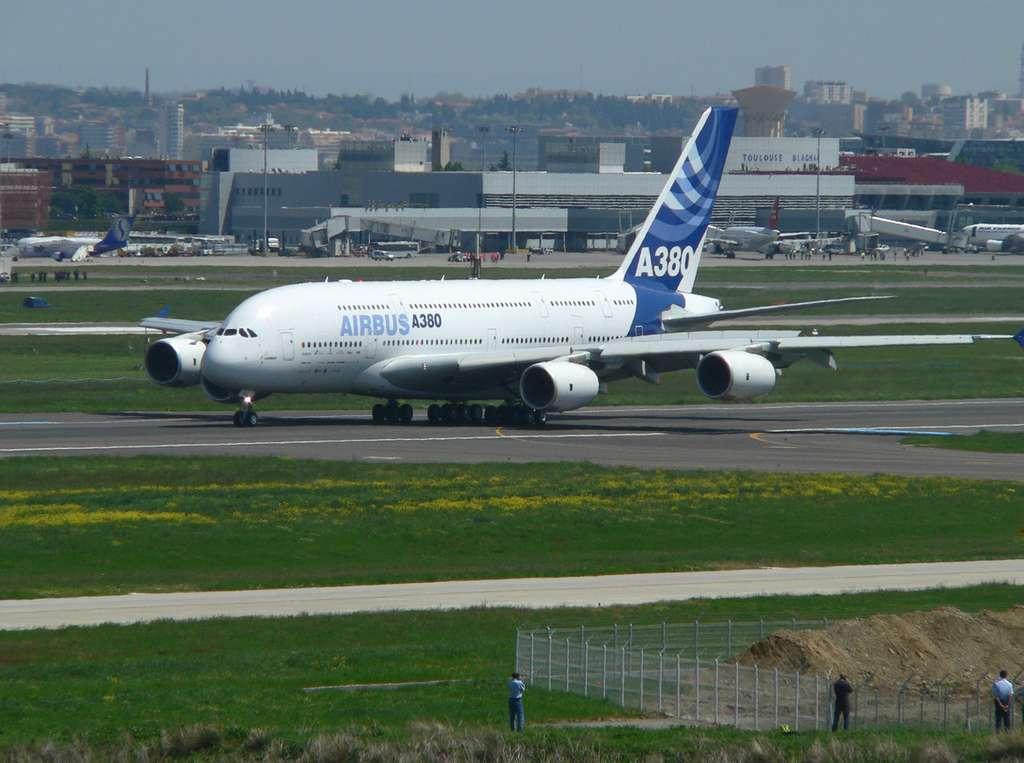 Fin du freinage de l'A380