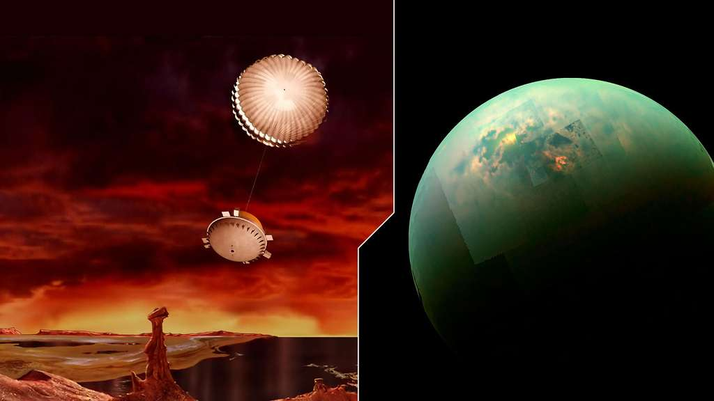 Plongée dans l'atmosphère de Titan