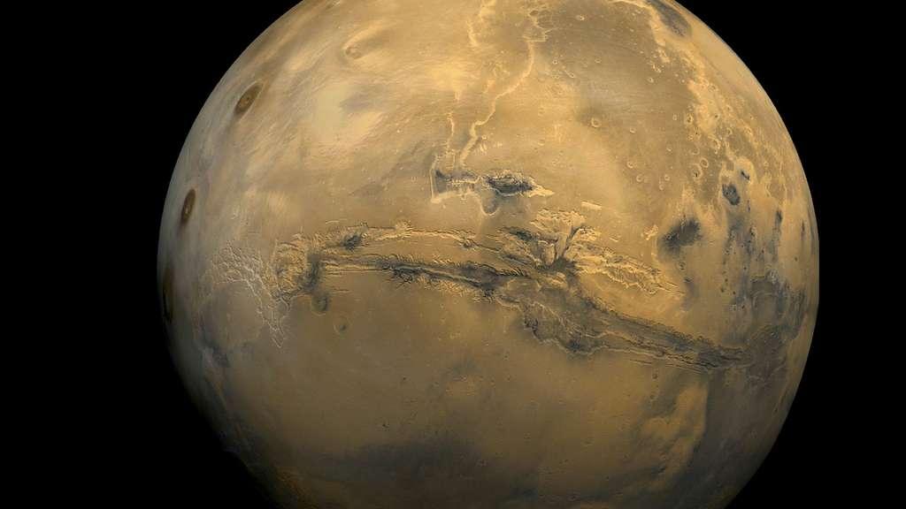 Mars vue par la sonde spatiale Viking 1