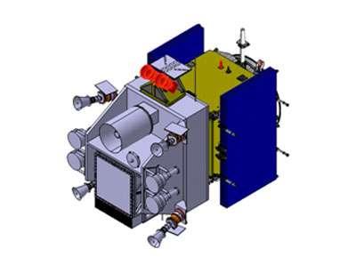 Le projet de satellite SVOM/ECLAIR permettra d'observer les sursauts gamma dans les domaines X, gamma et infrarouge. Associé à des télescopes au sol sensibles au rayonnement visible, il permettra l'observation simultanée et multi-longueur d'ondes de ces astres furtifs et mystérieux. © DR
