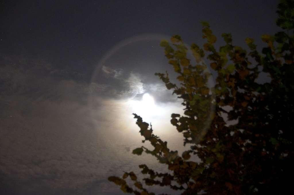 Lune irradiante