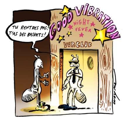 Les termites sont à l'affût de « good vibrations »