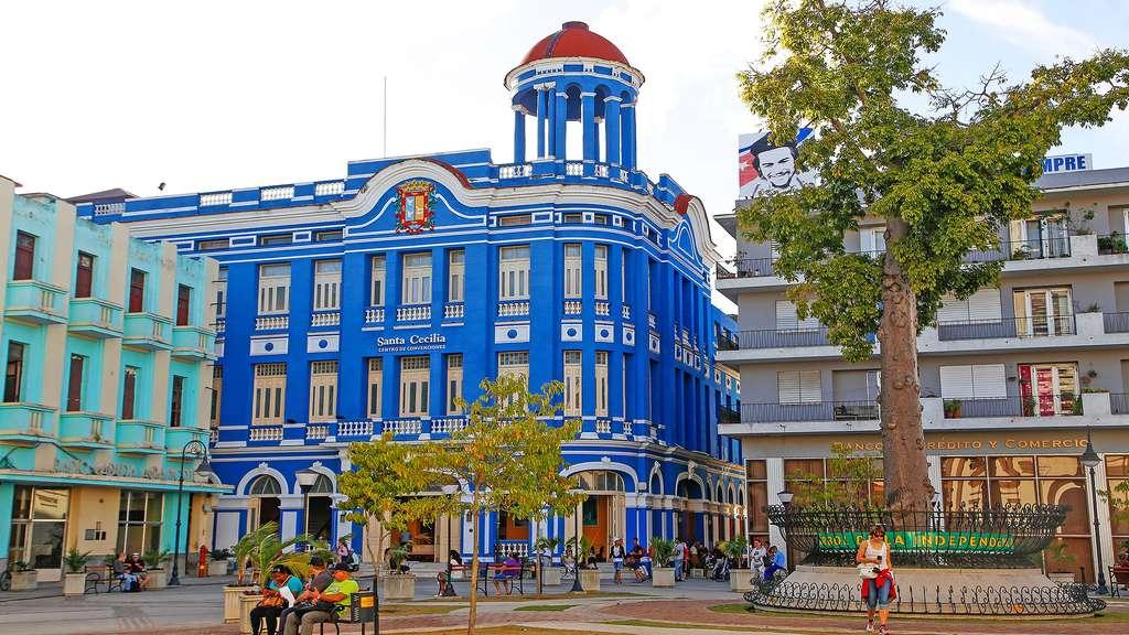 Camagüey, ville colorée. © Antoine, DR