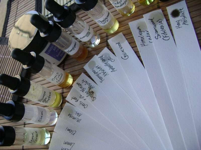 Les phtalates peuvent rentrer dans la composition de parfums ou de nombreux produits cosmétiques. On peut donc les appliquer directement sur sa peau, à travers laquelle ils arrivent à pénétrer. © Ayala Sender, Wikipédia, cc by 2.0