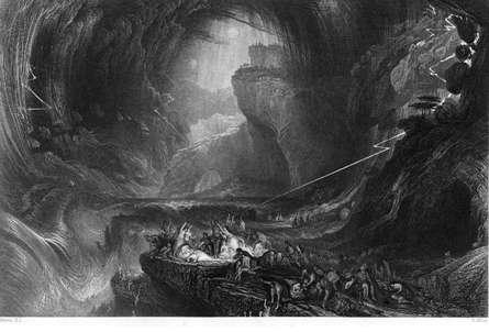 Figure 22 : « Evening of the Deluge » de John Martin (1828).