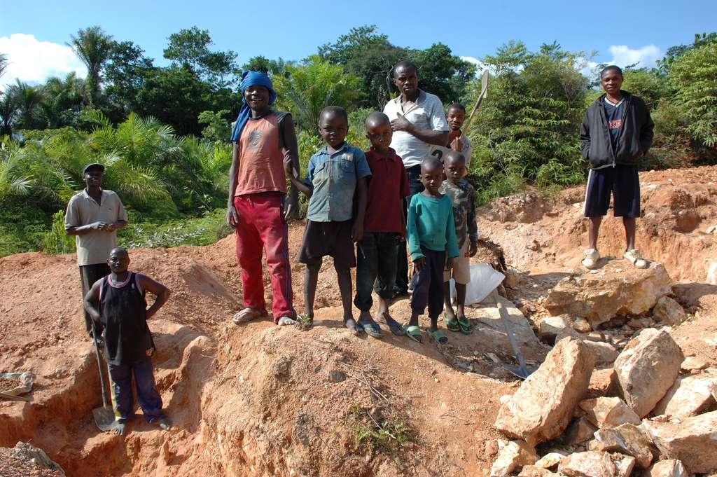 La plupart des diamants de RDC proviennent de mines artisanales. © Julien Harneis, Flickr