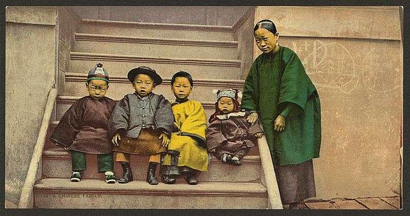 La politique de l'enfant unique a vu le jour pour limiter l'accroissement de la population. © Library of Congress, administration américaine, DP