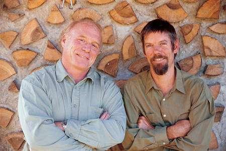 Carke Snell et Tim Callahan. © Clarke Snell