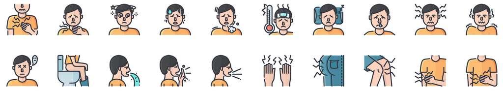 La persistance de symptômes ne signifie pas pour autant que l'on reste contagieux. © KP Arts, Adobe Stock